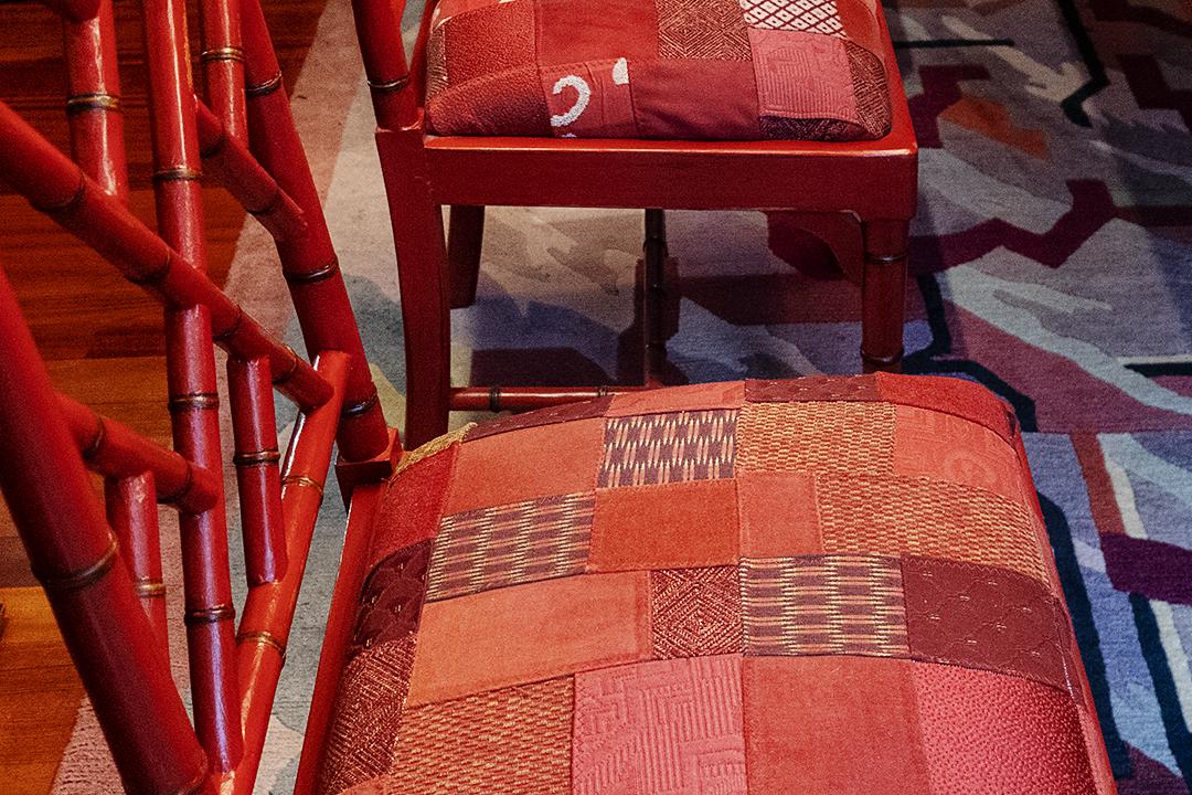 chair seat detail